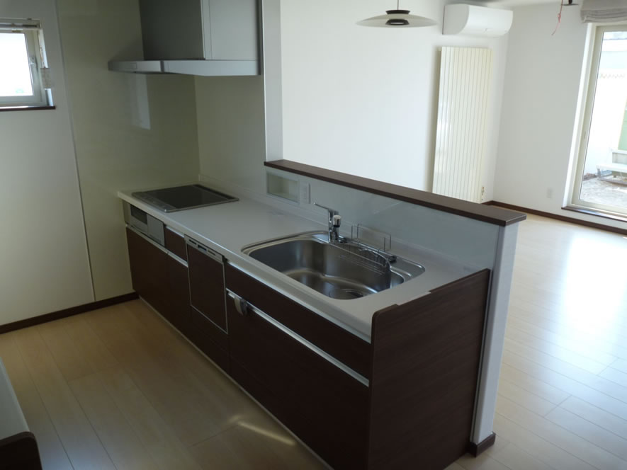タカケンの施工実績画像:キッチン