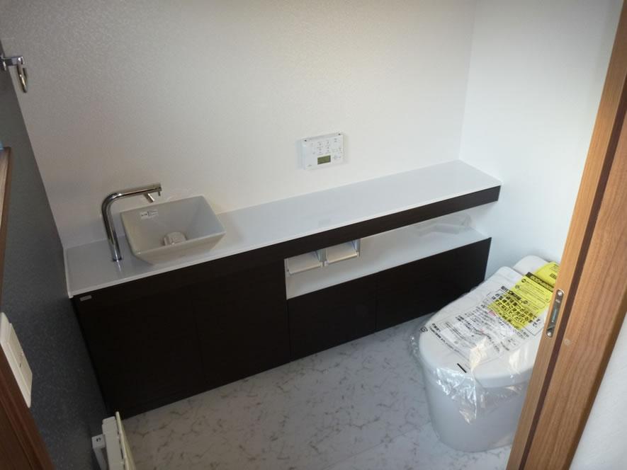 タカケンの施工実績画像:トイレ